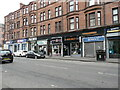 NS5168 : Shops, Dumbarton Road by Richard Sutcliffe