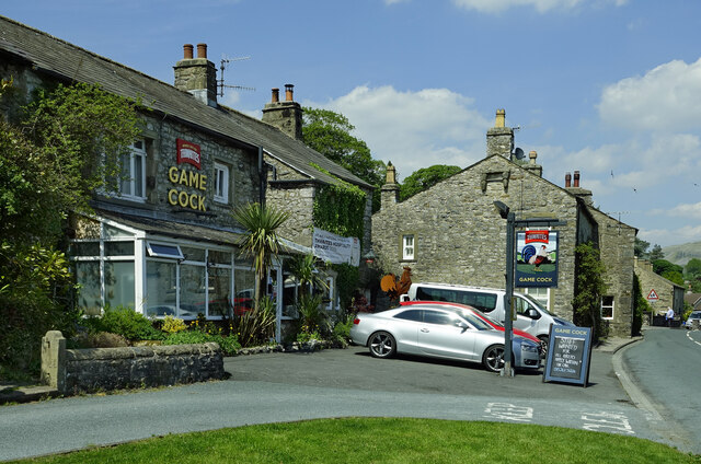 The Game Cock, Austwick