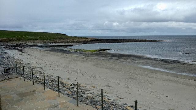 View north-west from Skara Brae