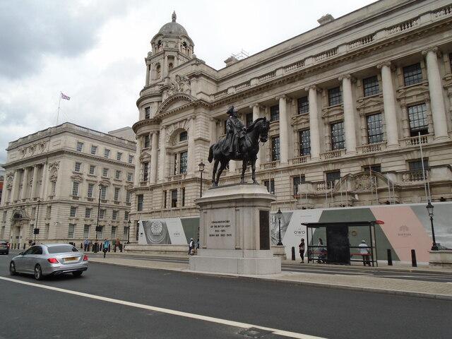 Equestrian Statue - Whitehall