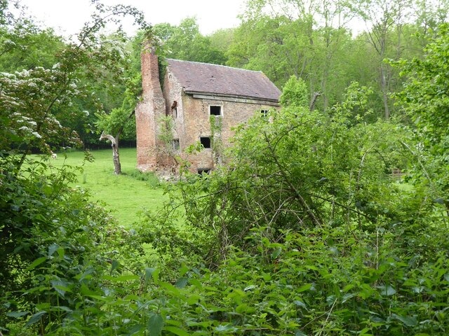 House ruin at Stanbourne