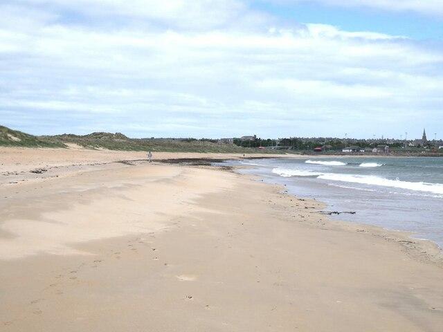 Beach on Fraserburgh Bay