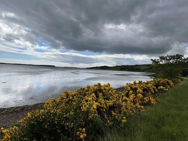 Big sky over Loch Fleet