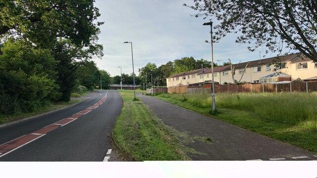 Ringmead towards Great Hollands Road