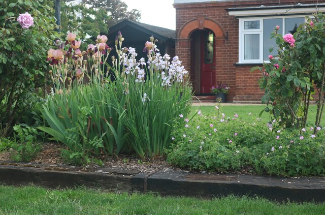 Front garden on Station Road, Tolleshunt D'Arcy