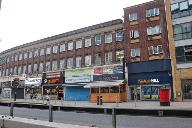 Shops on Eastern Avenue, Gants Hill
