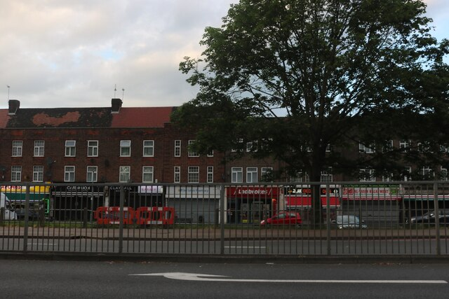 Shops on Woodford Avenue, Clayhall