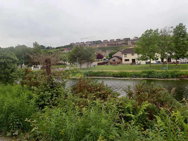 Residential development on green field sites in the Highfields area of Newry