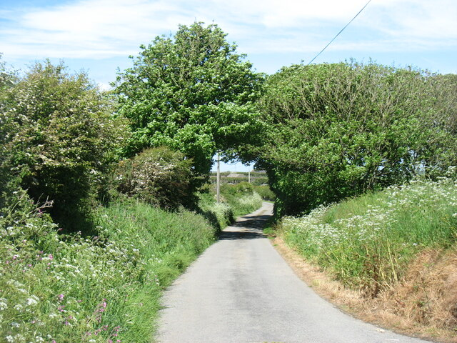 The lane to Aberffraw