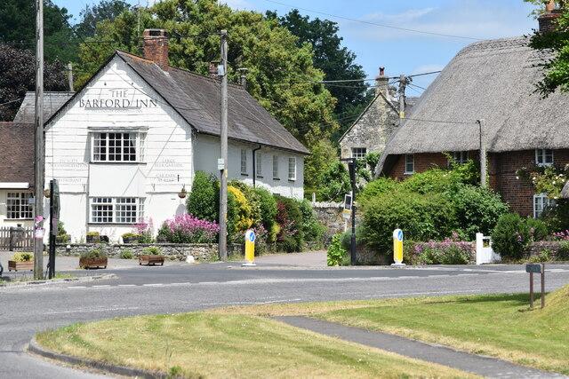 The Barford Inn and A30
