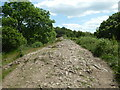 SO7638 : Looking back up Swinyard Hill by Chris Allen