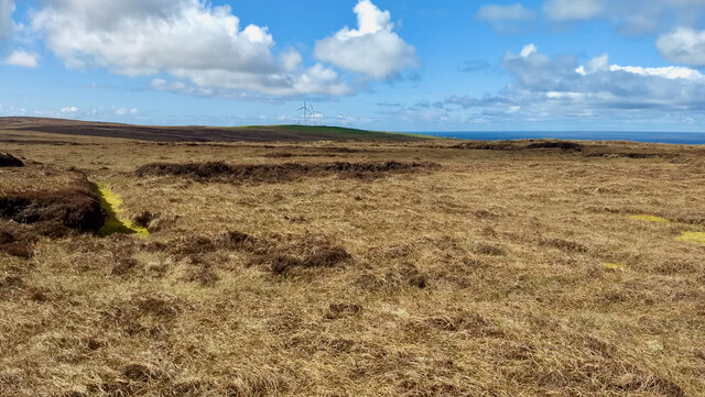 Peat cutting remains, Hill of Huntis