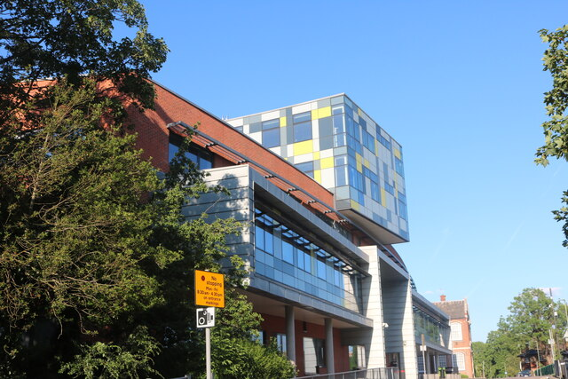 New building at Middlesex University, Hendon