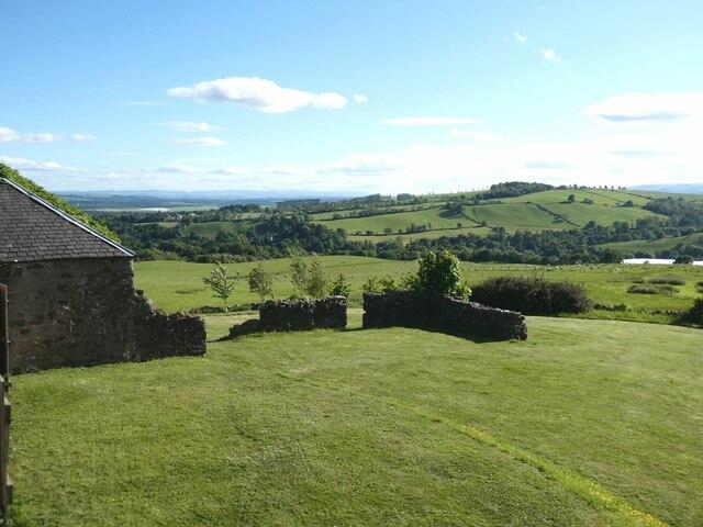 View south-west from Bonnington Farm