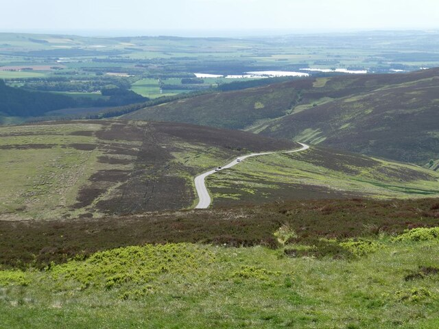 View south from Cairn O'Mount