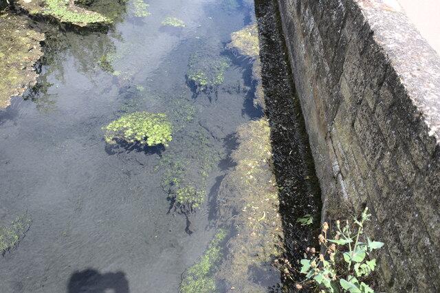 Clear water in Bourne Eau