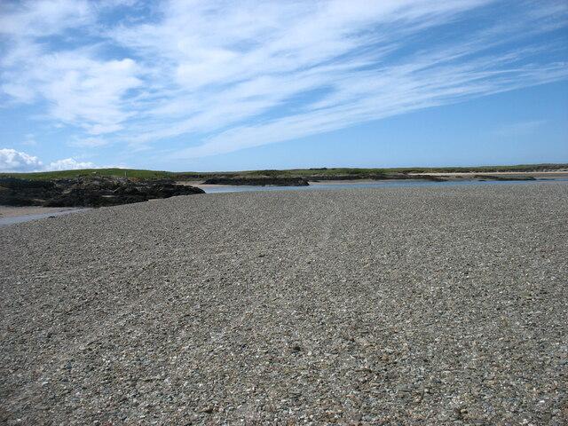 The estuary at Plas Cymyran