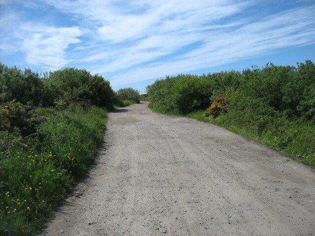 On the Anglesey Coast Path, heading for Plas Cymyran