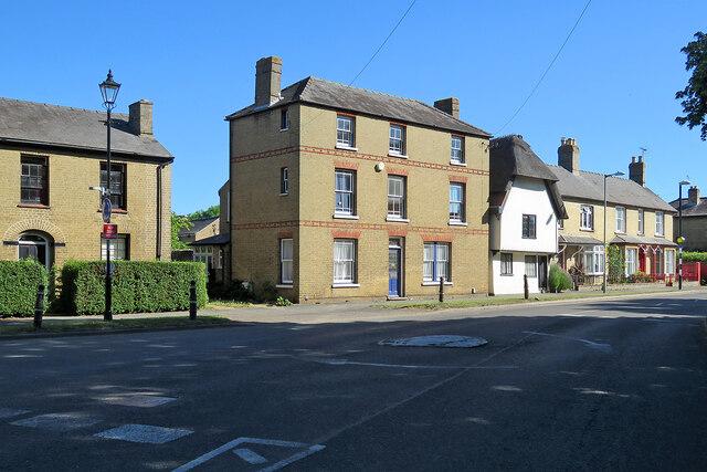 Cottenham: High Street houses