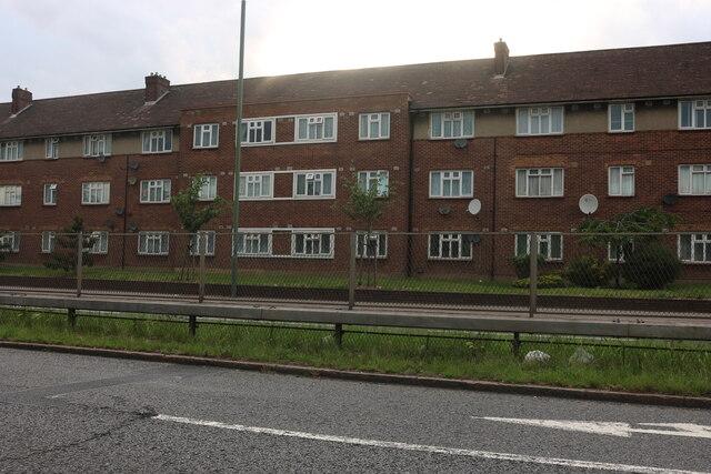 Flats on Eastern Avenue, Aldborough Hatch