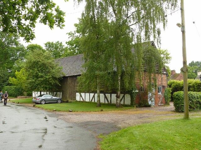 The Tithe Barn, Mavesyn Ridware