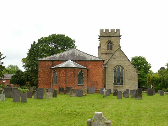 Church of St Nicholas, Mavesyn Ridware