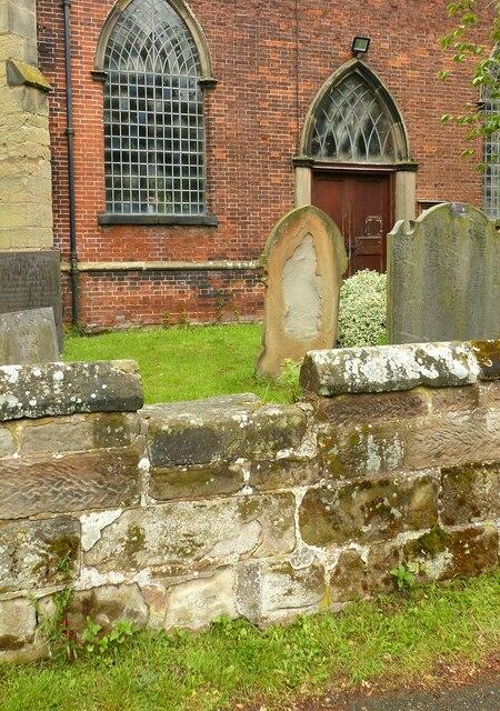 Gentlemen's entrance, Church of St Nicholas, Mavesyn Ridware