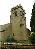 SK0816 : Church of St Nicholas, Mavesyn Ridware by Alan Murray-Rust