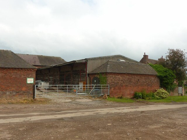 Old farmyard buildings, Woodhouse Farm