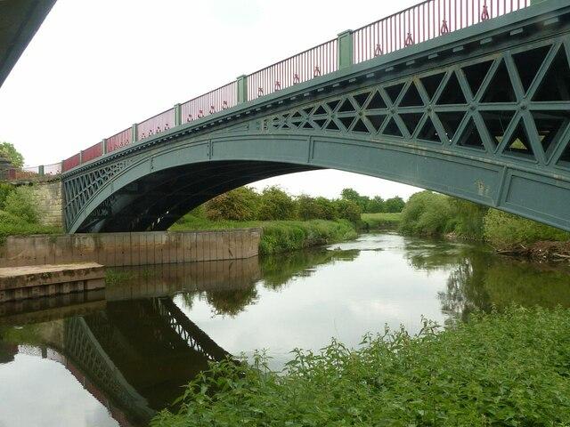 The old High Bridge, Handsacre