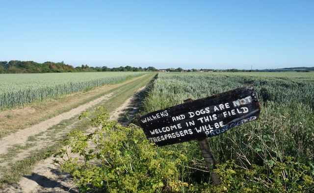 Not Welcome in this Field