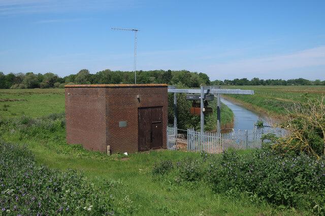 Ditch on Stoke Ferry Fen