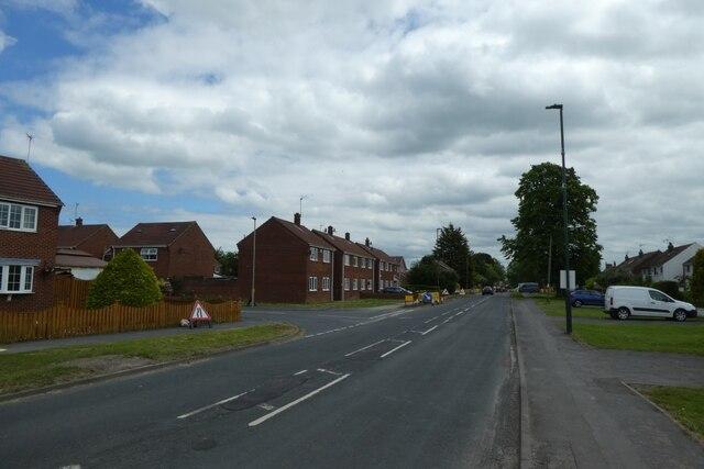 Moor Lane near Pinfold Avenue