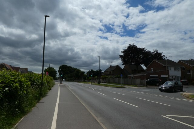 Cycle path on Low Street