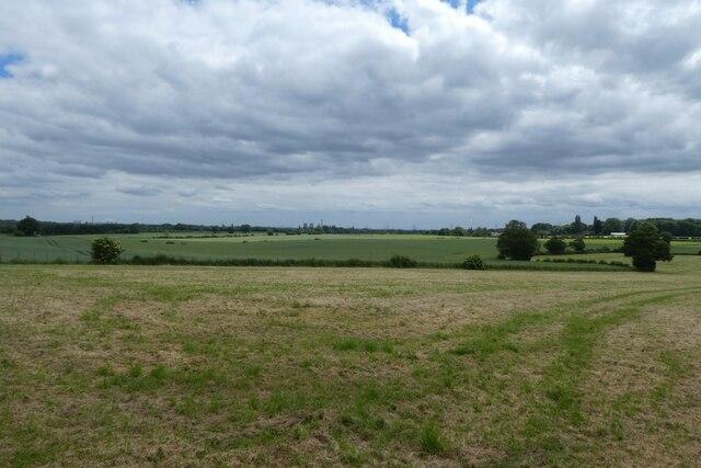 Fields near Lumby