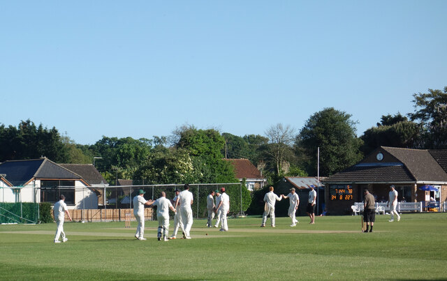 Cricket at Sholden