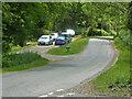 SO7638 : Parking by Fairoaks Cottages by Chris Allen
