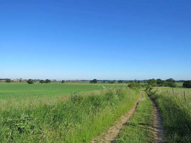 Rampton Drift and distant Northstowe