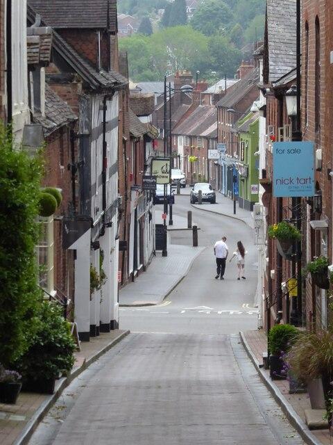 View down Whitburn Street