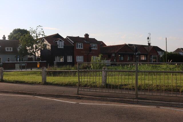 Danbury Green and pond