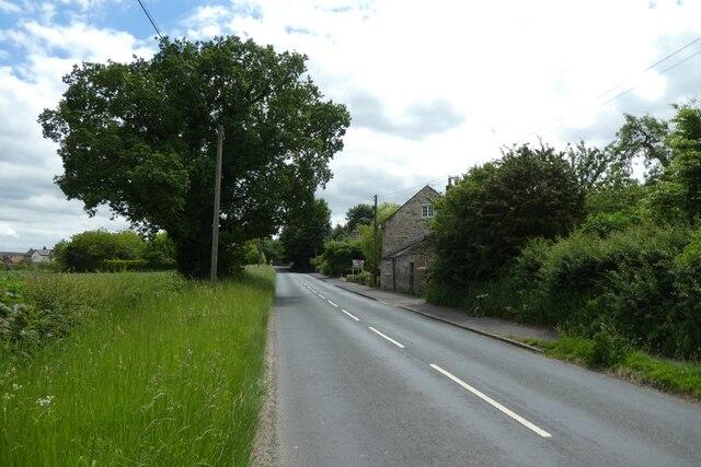 Along Lumby Lane
