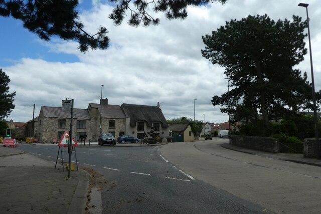 Main Street meets Fryston Common Lane