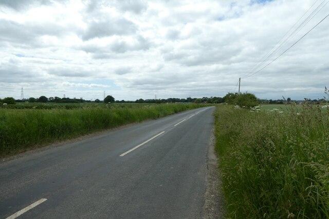Hillam Common Lane near Lowfield Road