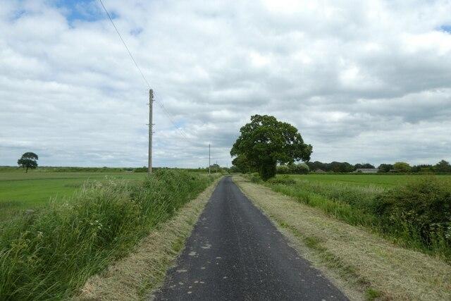 Looking along Common Lane