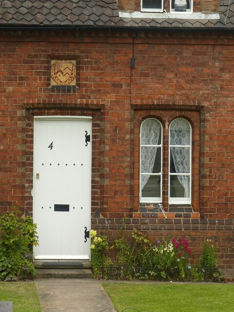 Doorway at 4 Manor Road, King's Bromley