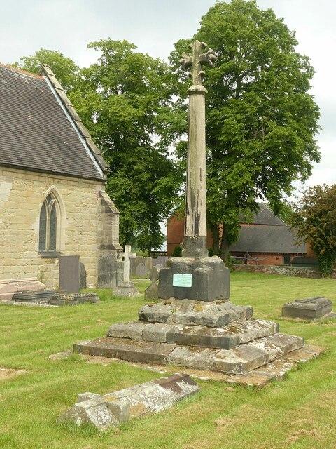 Churchyard cross, King's Bromley
