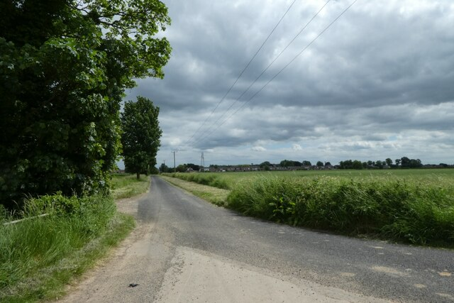 Common Lane from Philip Lane