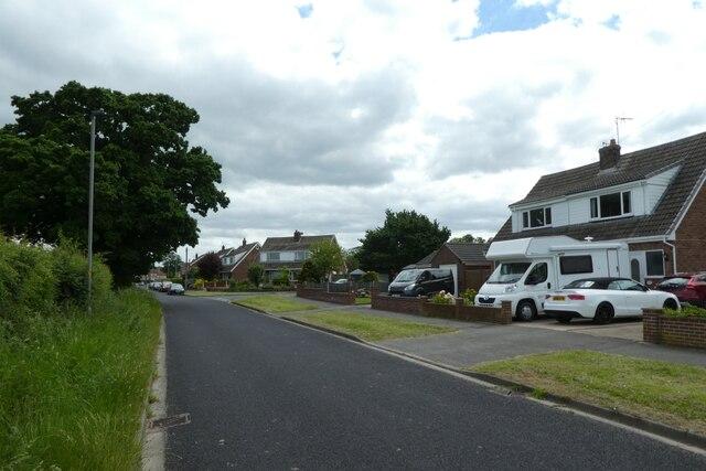 Common Lane in Hambleton