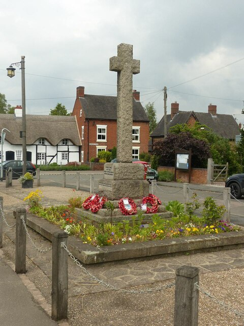 War memorial, King's Bromley