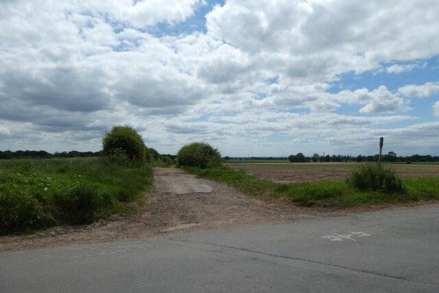 Track to Fox Lane